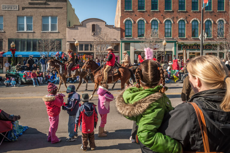 Christmas Parade, Lawrence, Kansas, United States of America